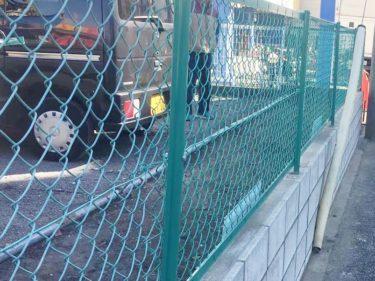 町田市 駐車場 外構フェンス工事