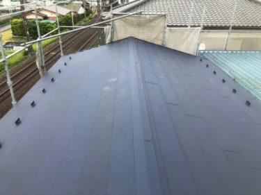 神奈川県茅ヶ崎市 屋根葺き替え工事