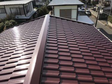 神奈川県茅ヶ崎市 M様 屋根塗装工事