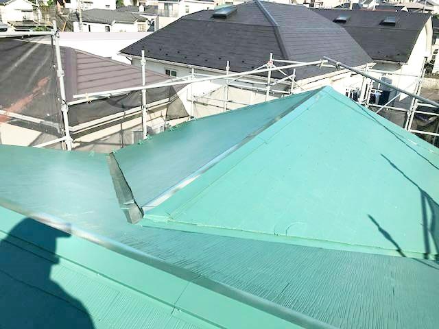 屋根外壁塗装工事 港南区港南 N様邸 完成検査工程