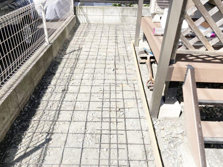 横浜市磯子区 土間コンクリート工事②|さむかわ塗装