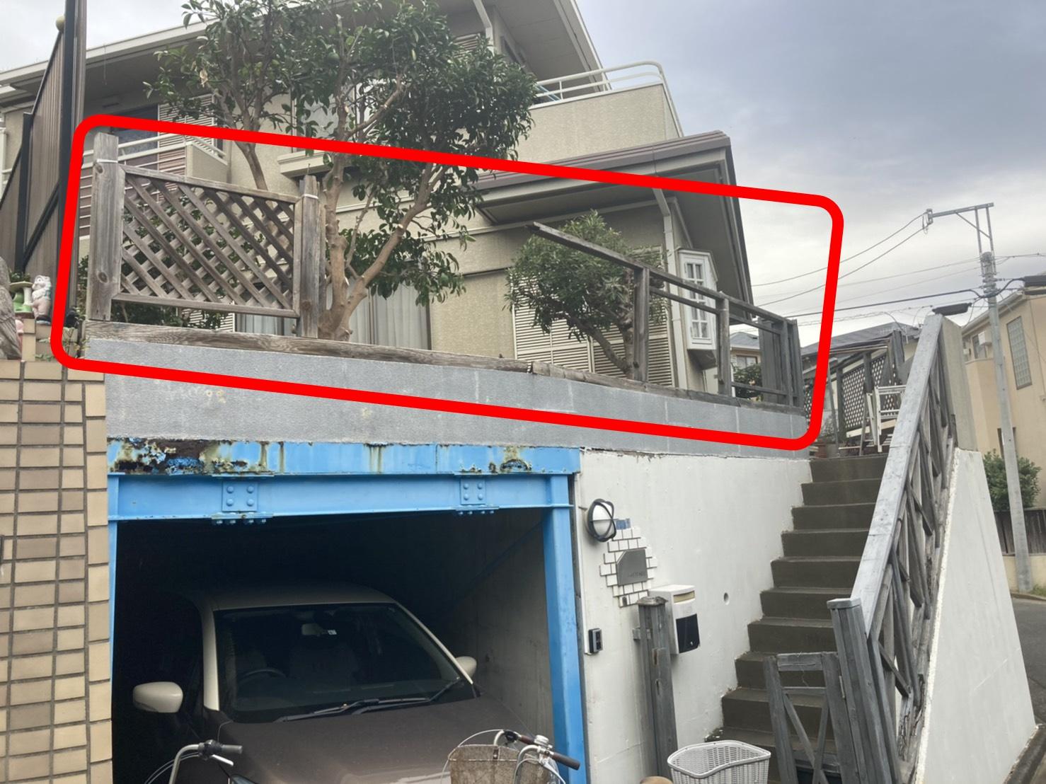 藤沢市フェンス工事【台風で壊れたフェンスを撤去しました!】 さむかわ塗装 