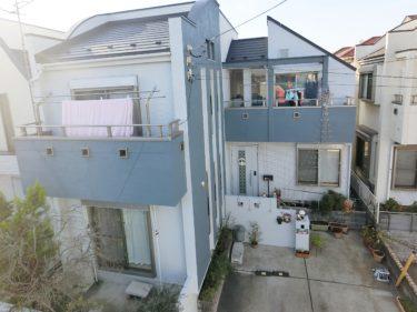 神奈川県藤沢市 屋根葺き替え・外壁塗装