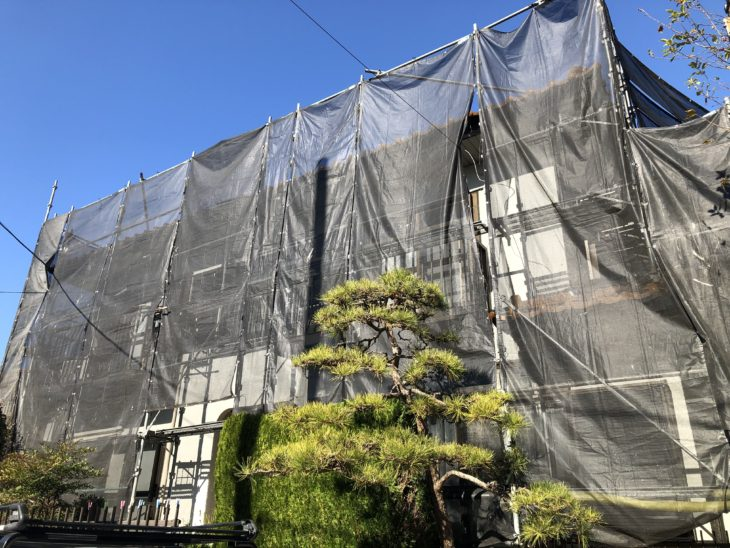 座間市入谷東O様邸【下塗り】|さむかわ塗装|