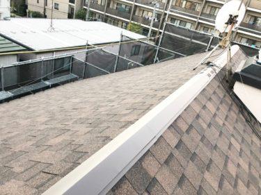 川崎市中原区雨もり修理|屋根カバー工事
