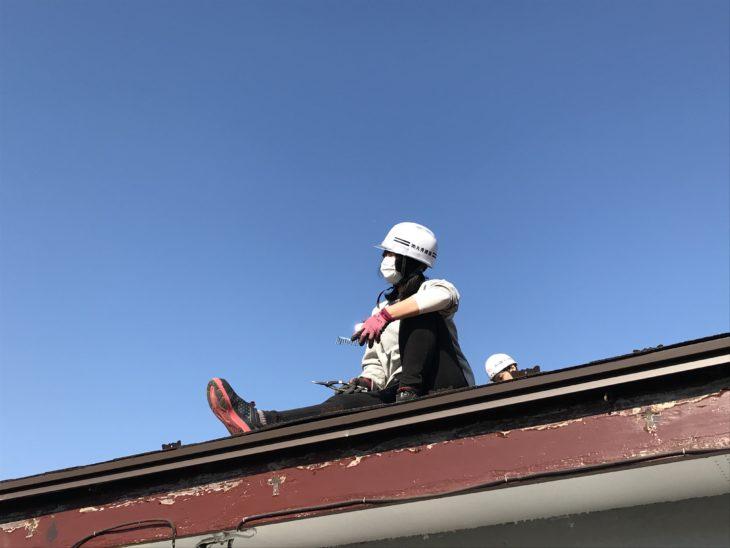厚木市愛名K様邸 屋根カバー工事|板金解体編【さむかわ塗装】