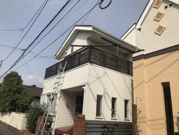 安藤と茅ケ崎市で屋根の部材調査!!!【さむかわ塗装】