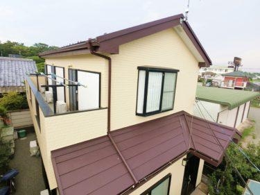 神奈川県高座郡寒川町宮山N様邸 屋根カバー・外壁塗装工事